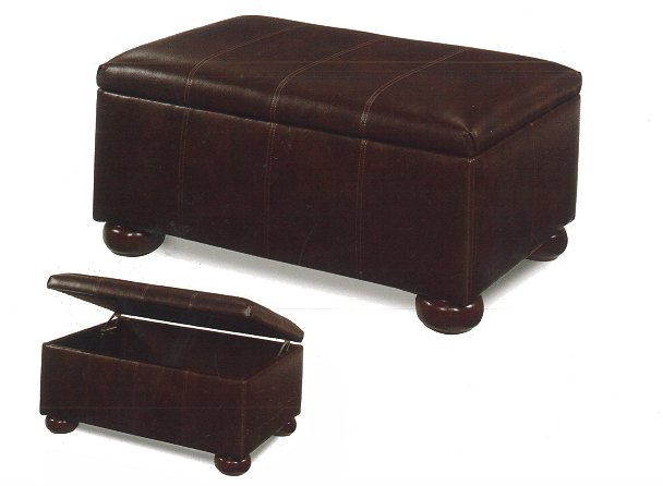 Buy Upholstered Storage Ottoman